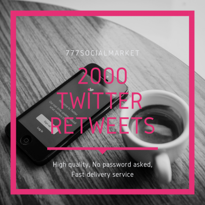 BUY 2000 TWITTER RETWEETS