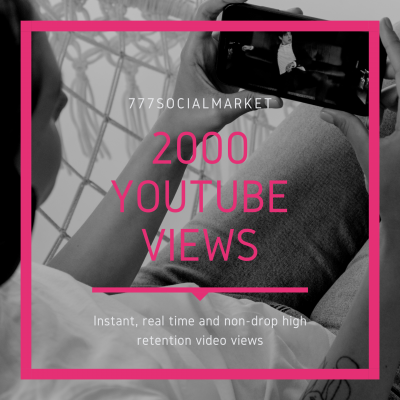 BUY 2000 YOUTUBE VIEWS